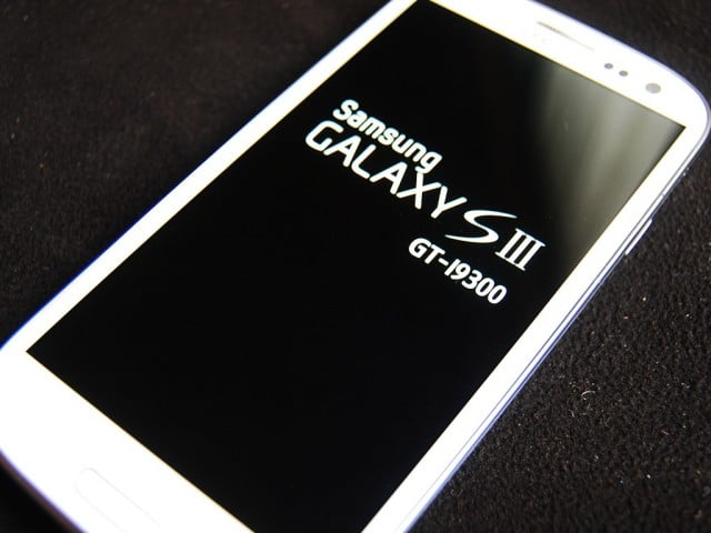 Samsung Galaxy S3 stuck on boot screen